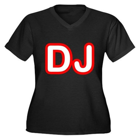 DJ Plus Size V-Neck Shirt