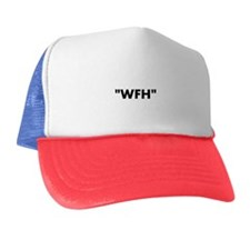 Cute Work from home Trucker Hat
