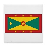 Grenada Civil Ensign Tile Coaster