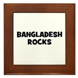 BANGLADESH ROCKS Framed Tile