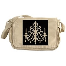 CHANDELIER SILHOUETTE Messenger Bag