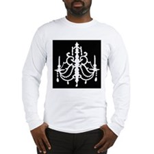 CHANDELIER SILHOUETTE Long Sleeve T-Shirt