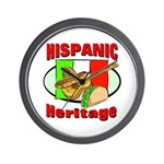 Hispanic Heritage Wall Clock