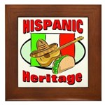 Hispanic Heritage Framed Tile