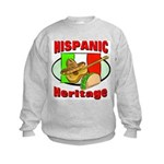 Hispanic Heritage Kids Sweatshirt