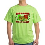 Hispanic Heritage Green T-Shirt