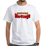 Hispanic Heritage White T-Shirt