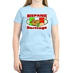 Hispanic Heritage Women's Pink T-Shirt