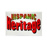 Hispanic Heritage Rectangle Magnet
