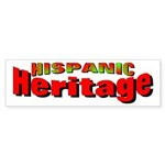Hispanic Heritage Bumper Sticker