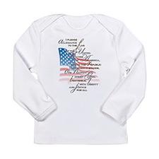 US Pledge - Long Sleeve Infant T-Shirt