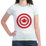 Captain Canada Jr. Ringer T-Shirt