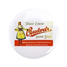 "Czech Beer Label 8 3.5"" Button (100 pack)"