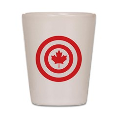 Captain Canada Shot Glass