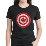 Captain Canada Women's Dark T-Shirt