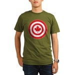 Captain Canada Organic Men's T-Shirt (dark)