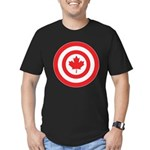 Captain Canada Men's Fitted T-Shirt (dark)