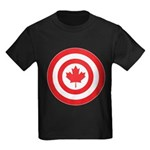 Captain Canada Kids Dark T-Shirt