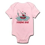 Retro Fishing Diva Onesie