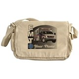 Custom Personalized EMT Messenger Bag