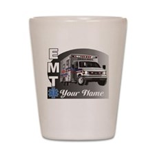 Custom Personalized EMT Shot Glass