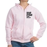 'Can't Play Golf' Zip Hoody