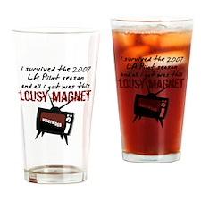 Pilot Season 2007 Drinking Glass
