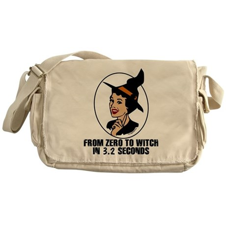 Zero to Witch Messenger Bag