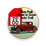 "The Pikes Peak Ocean to Ocean 3.5"" Button"