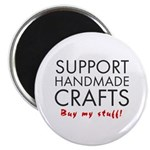 'Support Handmade Crafts' Magnet