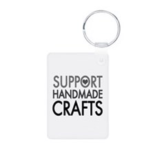 'Support Handmade Crafts' Keychains