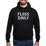 'Floss Daily' Hoodie (dark)
