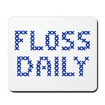 'Floss Daily' Mousepad