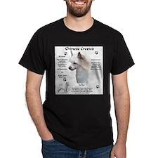 Crested 2 Black T-Shirt
