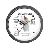 Crested 2 Wall Clock
