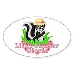 Little Stinker Gloria Sticker (Oval 10 pk)