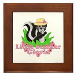 Little Stinker Gloria Framed Tile