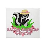 Little Stinker Gloria Throw Blanket