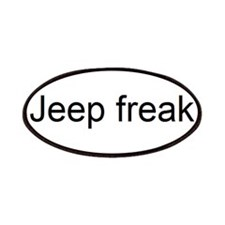 jeep freak Patches