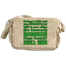 AH: Over Canvas Messenger Bag