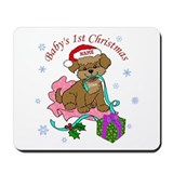 Baby's 1st Christmas 2012 Mousepad