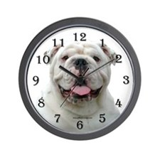 Bulldog 5 Wall Clock