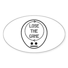 Game Oval Decal
