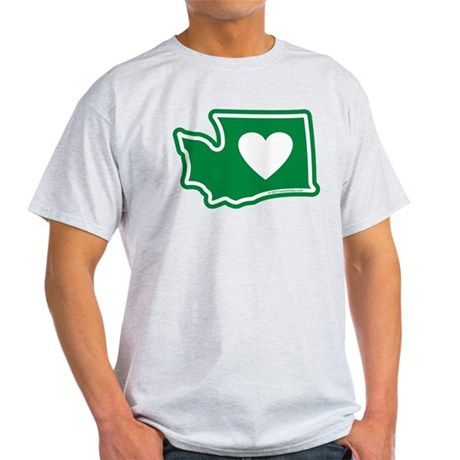 Heart in Washington Light T-Shirt