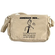 Armenian Men Messenger Bag
