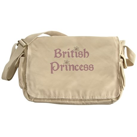British Princess Messenger Bag