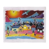 Dwelling Places Throw Blanket
