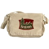 Sequoia Mountains Messenger Bag