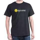 Bayonne in Black Black T-Shirt