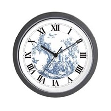 """FRENCH TOILE"" Wall Clock"
